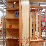 Небольшой шкаф для малогабаритной прихожей в комплекте с вешалкой, полочками и верхним